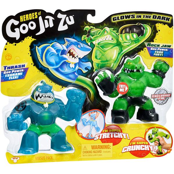 Duo figurines Goo Jit Zu 11 cm