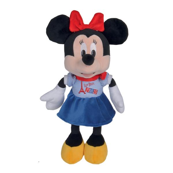 Peluche Mickey et Minnie Paris 25 cm