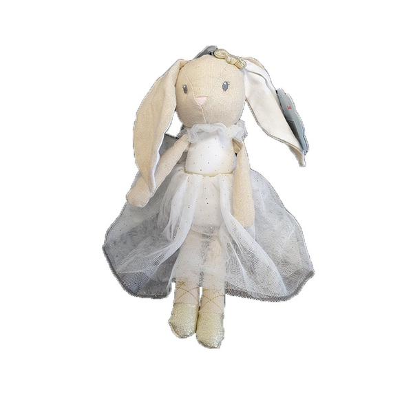 Peluche ballerine Lapin blanche