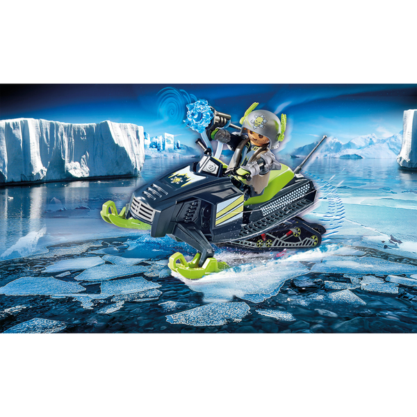 70235 - Playmobil Top Agents - Rebelle arctique et scooter des neiges
