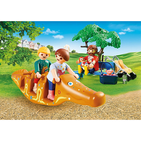 70281- Playmobil City Life - Parc de jeux et enfants