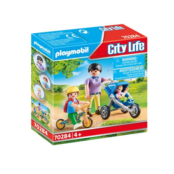 70284 - Playmobil City Life - Maman avec enfants