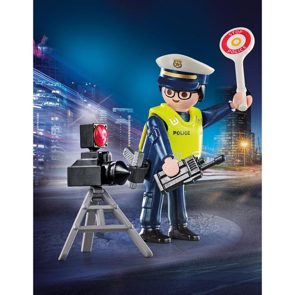 70305 - Playmobil Spécial Plus - Policier avec radar