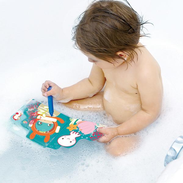 Livre de bain coloriage
