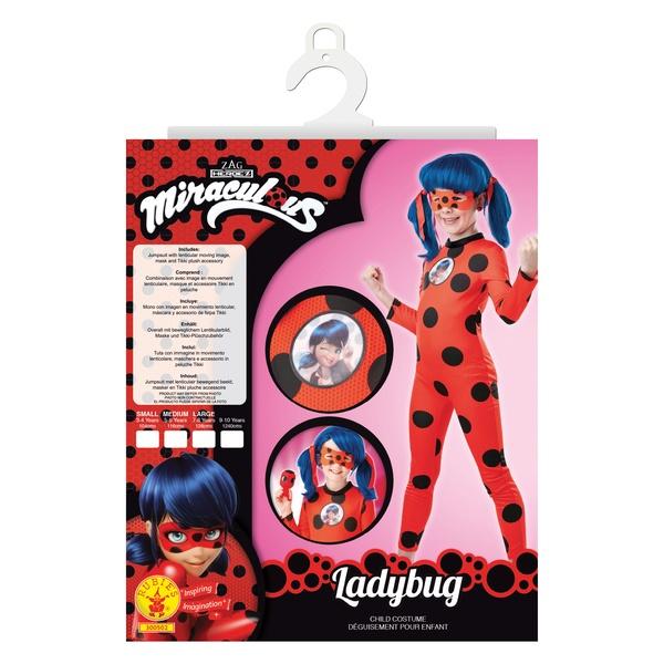 Déguisement Miraculous Ladybug avec Tikki 3/4 ans