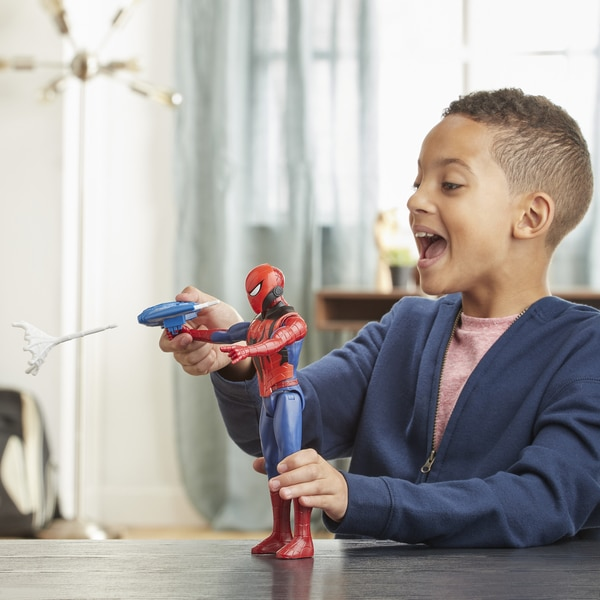Figurine Spiderman Titan Hero Blast Gear 30 cm - Marvel