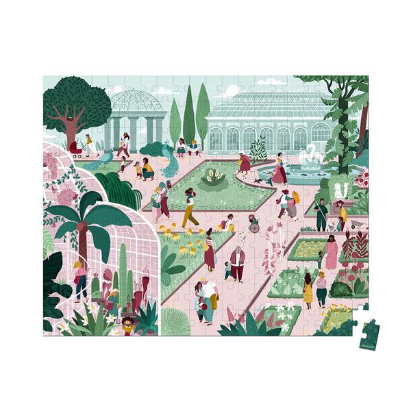 Puzzle 200 pièces Jardin botanique