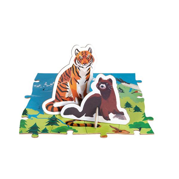 Puzzle éducatif - Les Animaux 200 pièces