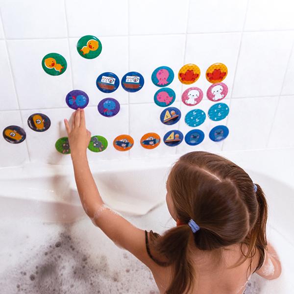 Mémo du bain 24 pièces