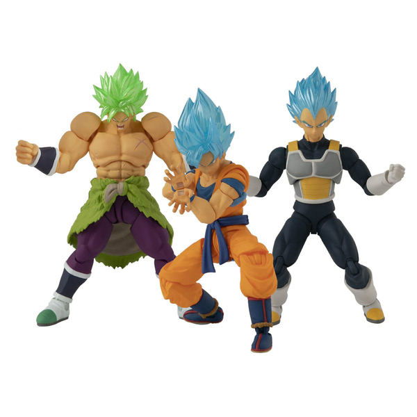 Pack 3 figurines Dragon Ball