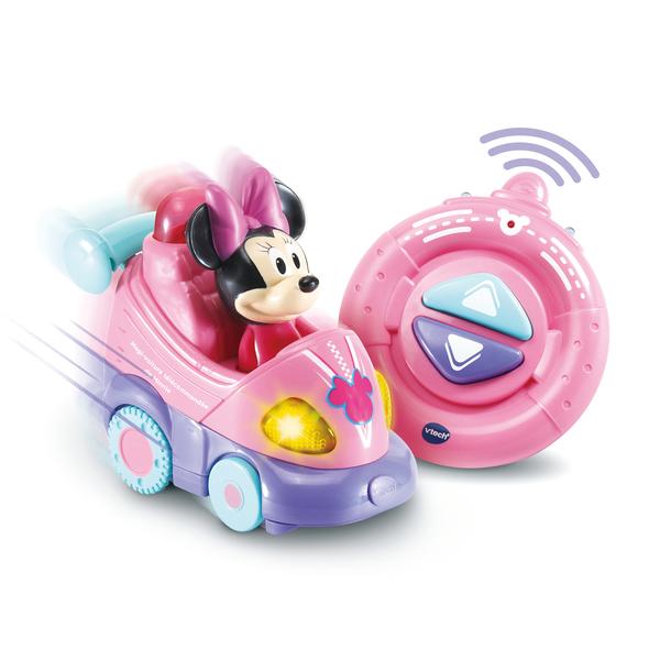 Magi-voiture télécommandée Minnie Tut Tut Bolides - Disney