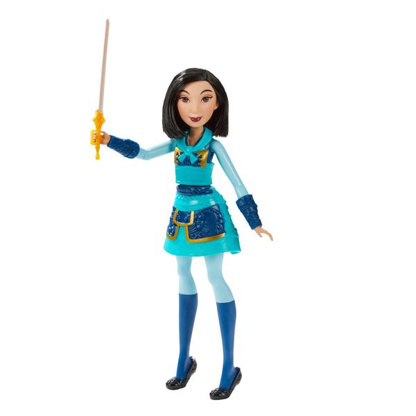 Poupée Mulan Guerrière 30 cm - Disney Princesses