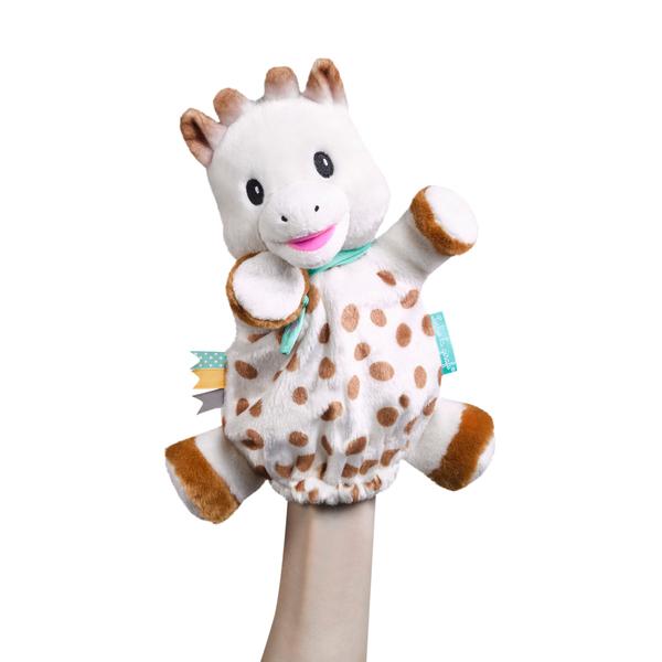 Doudou marionnette Sophie la girafe