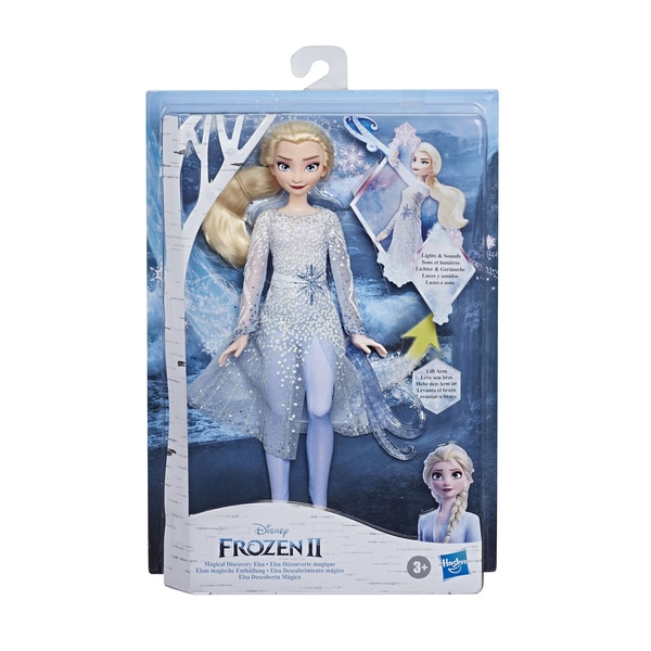 Poupée électronique Elsa 27 cm - La Reine des Neiges 2