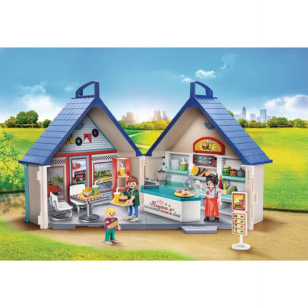 70111 - Playmobil City Life - Restaurant Transportable