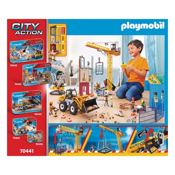 70441 - Playmobil City Action - La grue radio-commandée