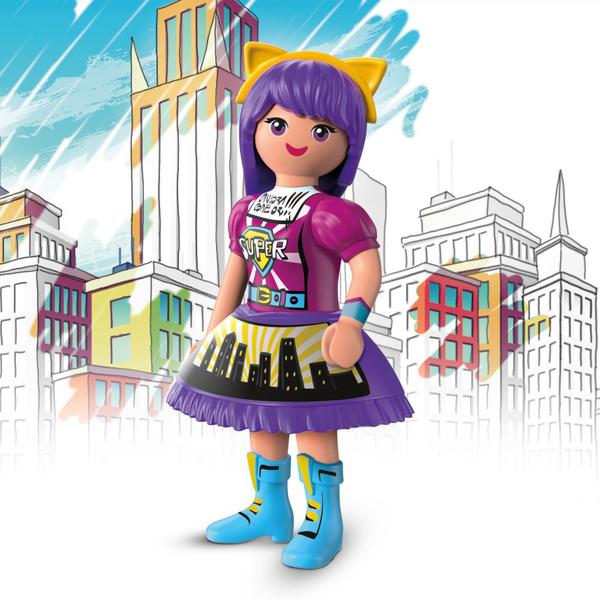 70473 - Playmobil Everdreamerz Le Monde de la BD - Viona