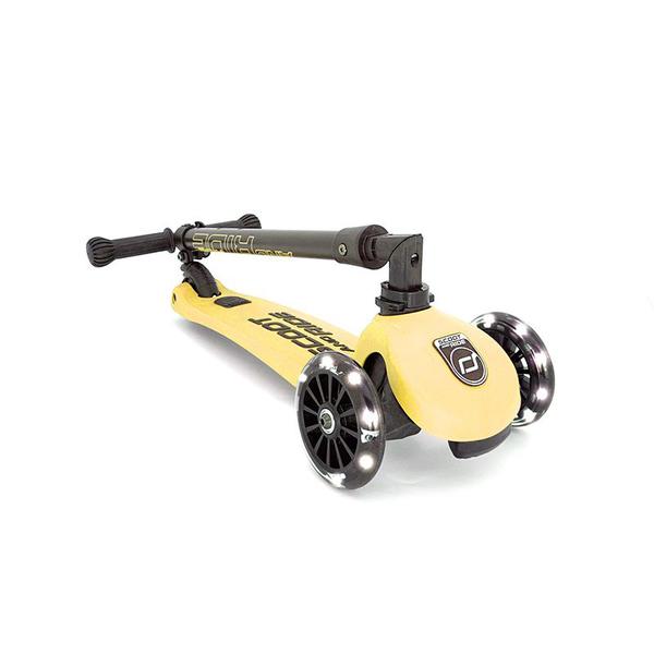 Trottinette Highwaykick 3 roues LED citron