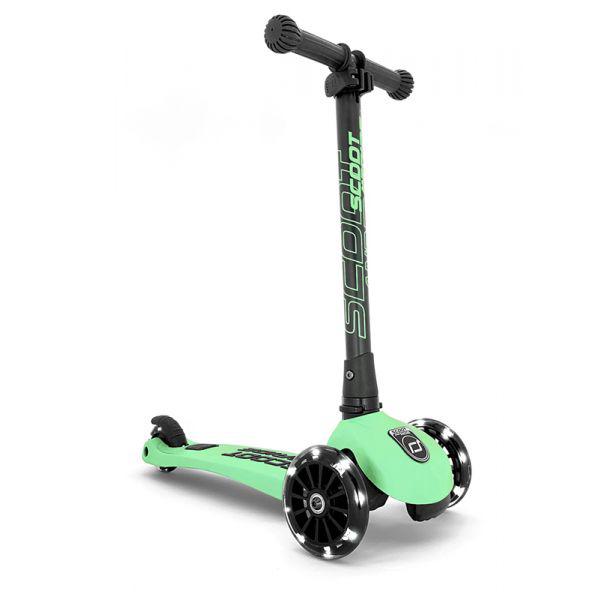 Trottinette Highwaykick 3 roues LED kiwi