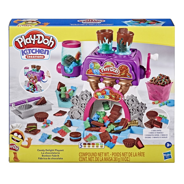 Pâte à modeler - La Chocolaterie Play-Doh Kitchen