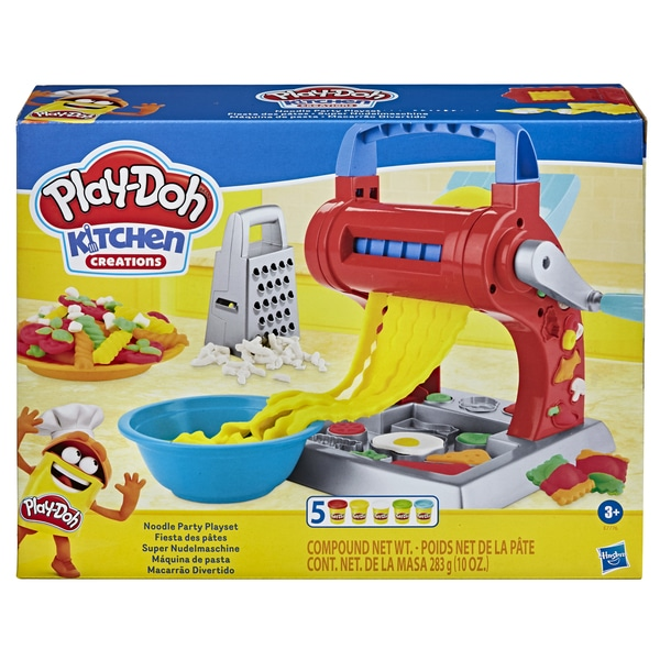 Pâte à modeler - Fiesta des pâtes Play-Doh Kitchen