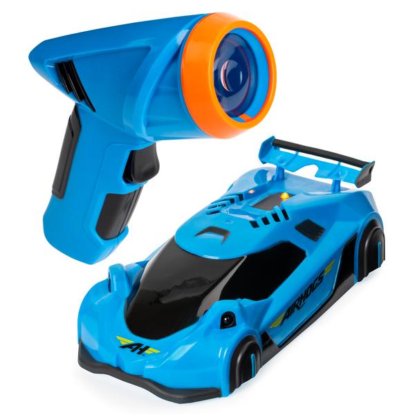 Voiture télécommandée - Air Hogs - Zero gravity laser bleu