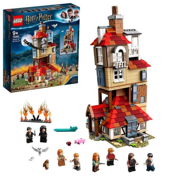 75980 - LEGO® Harry Potter - L'attaque du Terrier des Weasley
