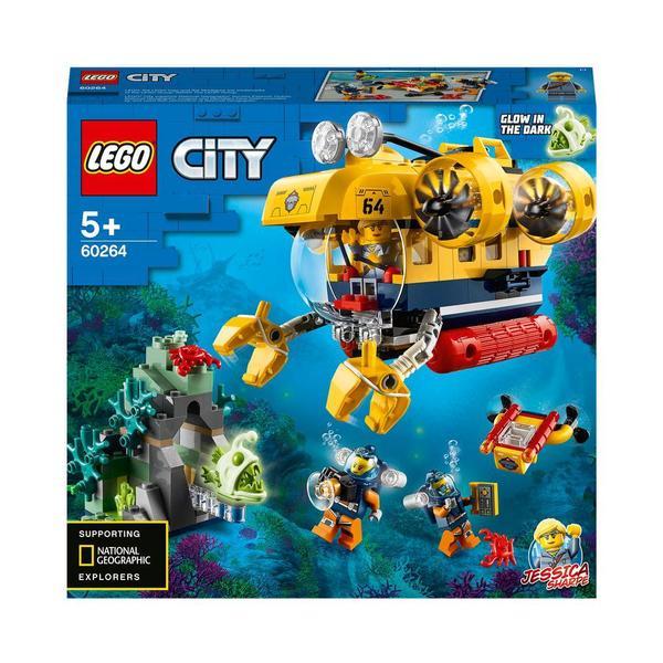 60264 - LEGO® City - Le sous-marin d'exploration