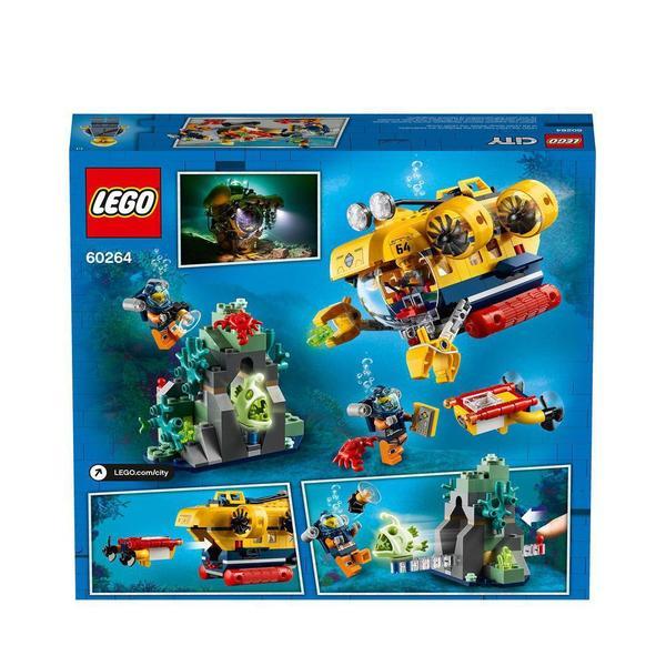 60264 - LEGO® City - Le sous-marin d