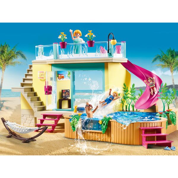 70435 - Playmobil Family Fun - Bungalow avec piscine