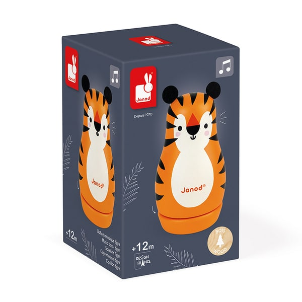 Boîte à musique tigre