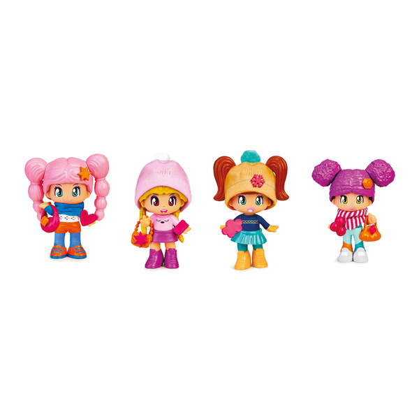 4 figurines Pinypon sport d
