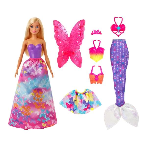 Poupée Barbie Princesse Dreamtopia et ses 3 tenues