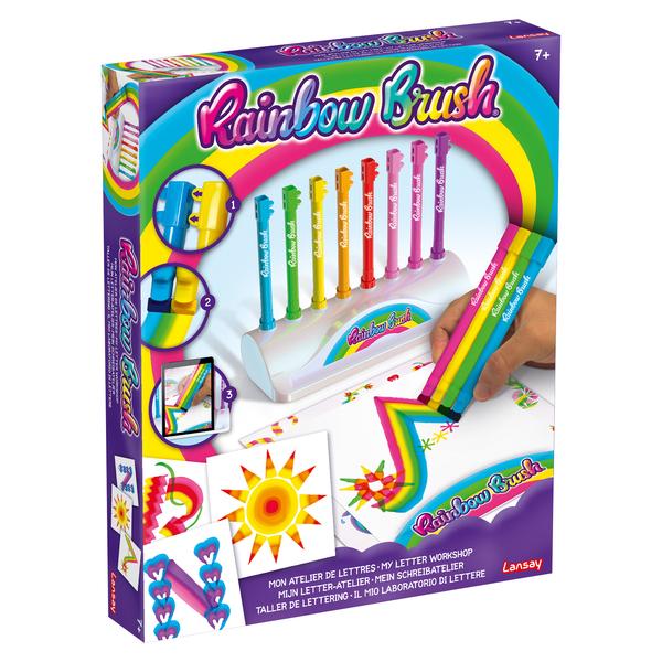 Mon atelier à lettres Rainbow Brush