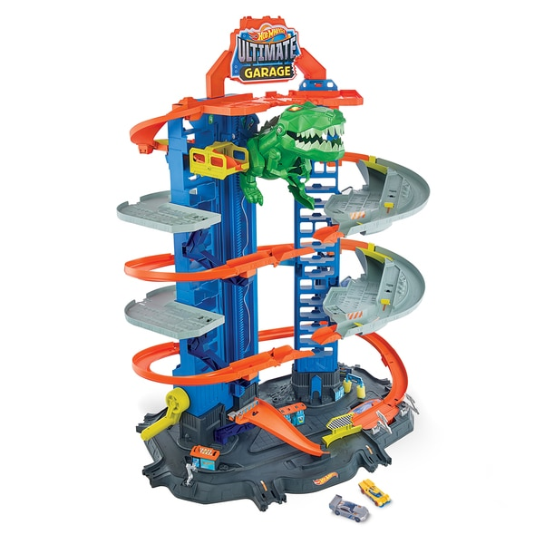 Garage Ultimate dinosaure Hot Wheels