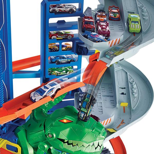 Garage Ultimate dinosaure Hot Wheels