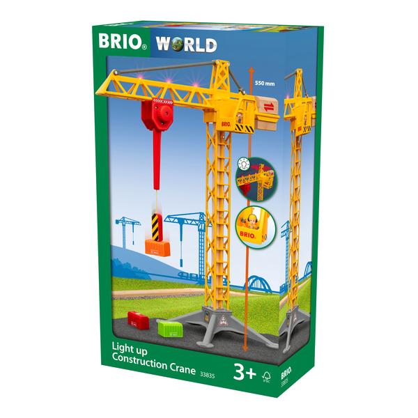 Brio World - 33835 - Grande grue lumineuse