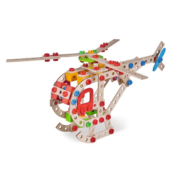 Jeu de construction Eichhorn Constructor 225 pièces Hélicoptère