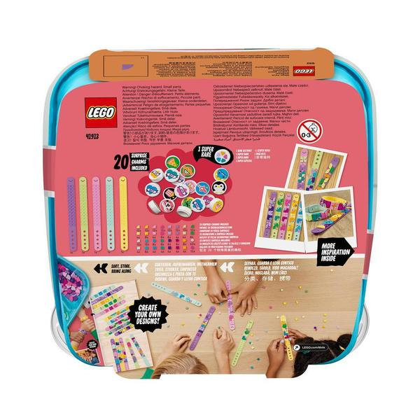 41913 - LEGO® DOTS - La méga-boîte de bracelets