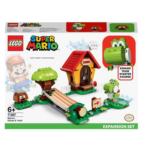 71367 - LEGO® Super Mario - Ensemble d'extension la maison de Mario et Yoshi
