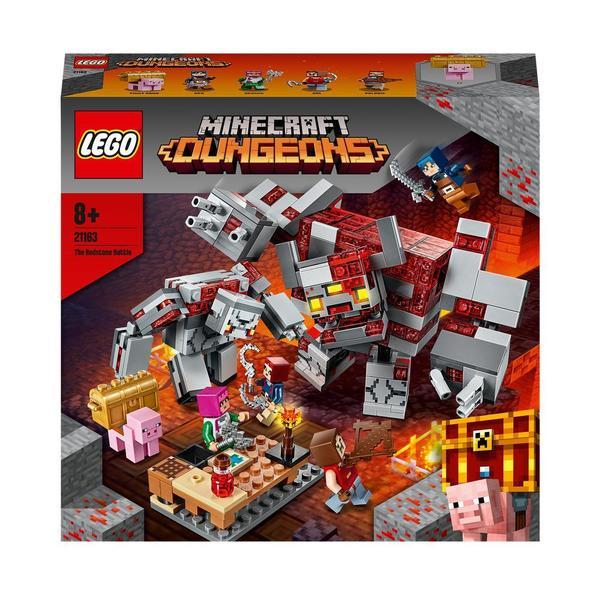 21163 - LEGO® Minecraft - La bataille de la Pierre rouge