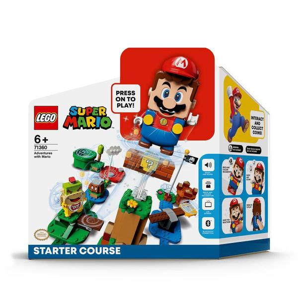 71360 - LEGO® Super Mario - Pack de Démarrage Les Aventures de Mario