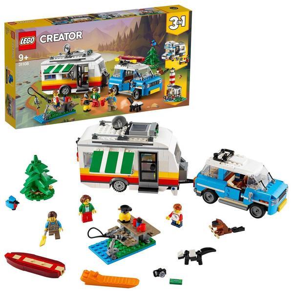 31108 - LEGO® Creator - Les vacances en caravane en famille