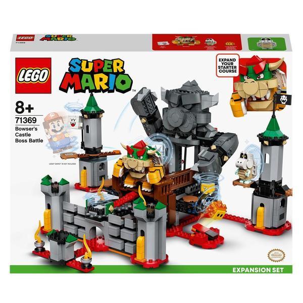 71369 - LEGO® Super Mario - Ensemble d'extension la bataille du château de Bowser