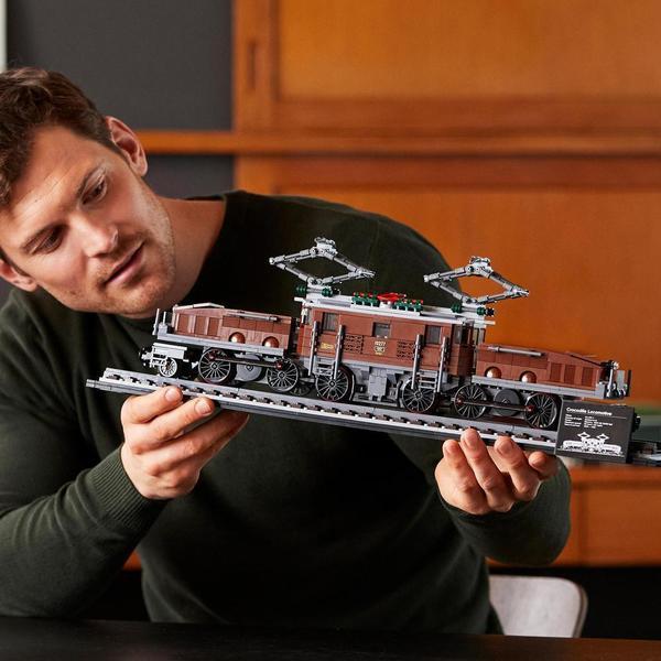 10277 - LEGO® Creator Expert - La locomotive crocodile