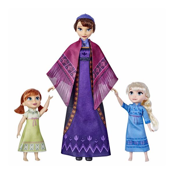 Poupées Elsa Anna et Iduna - La Reine des Neiges 2