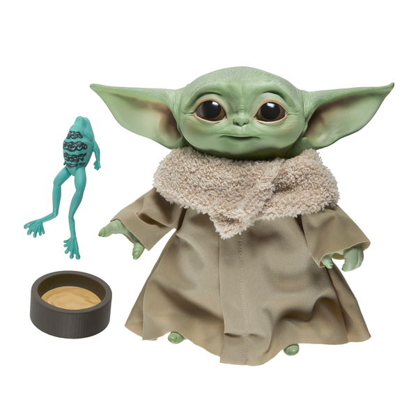 Peluche figurine électronique L'Enfant 19 cm - Star Wars The Mandalorian