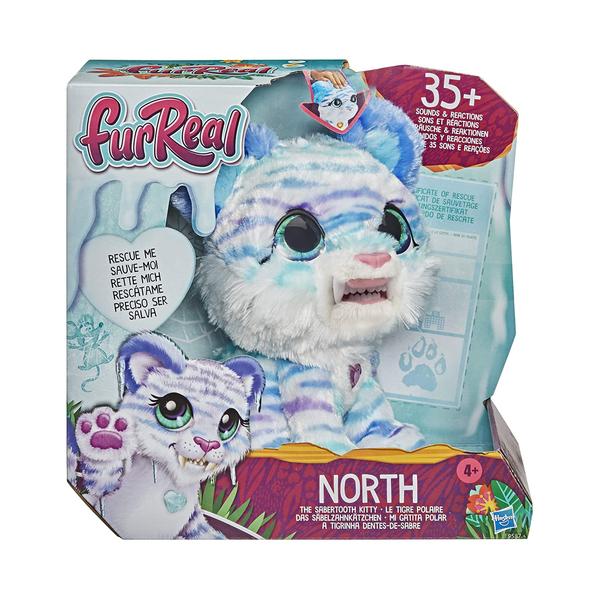 Peluche interactif North tigre polaire - Furreal Friends