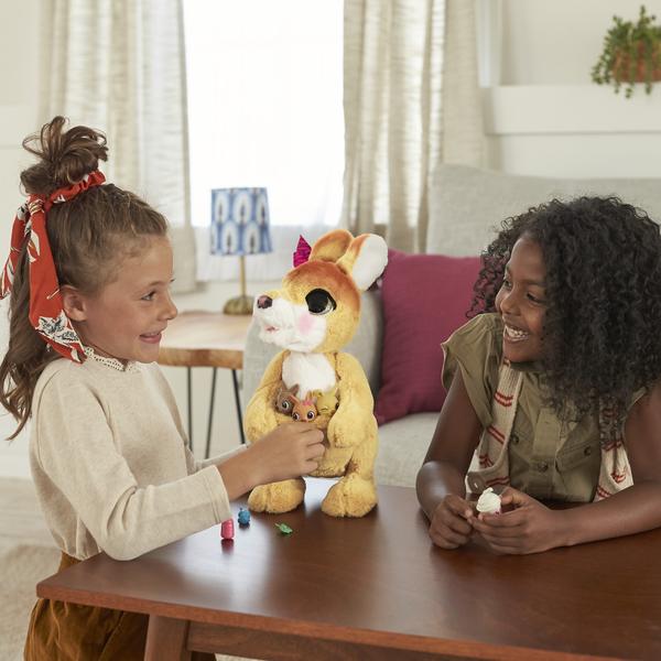 Peluche interactive Maman Josie le kangourou - Furreal Friends