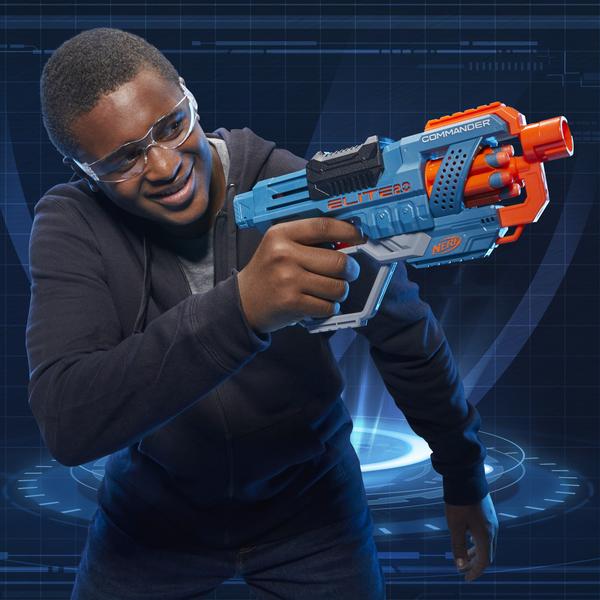 Pistolet Nerf Elite 2.0 Commander RD-6